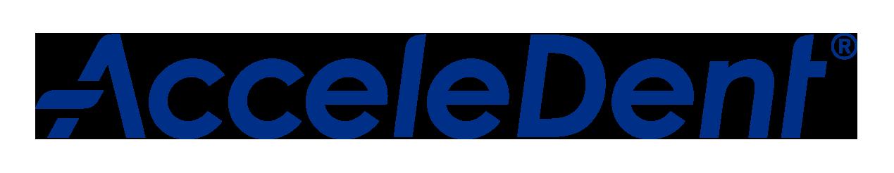 AcceleDent logo.