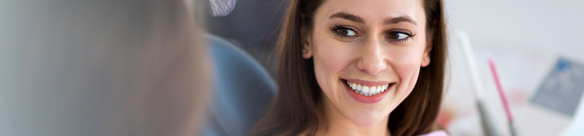 Marietta orthodontic dentist and patient.