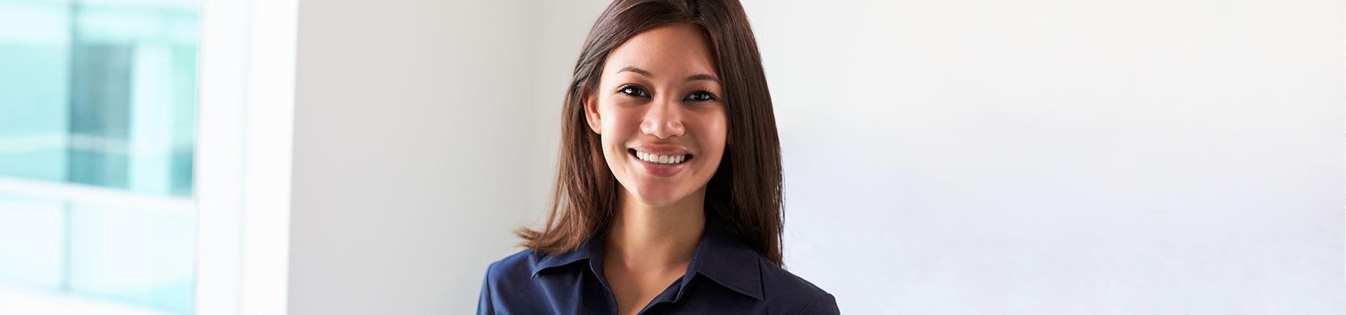 Female patient East Cobb Orthodontics.